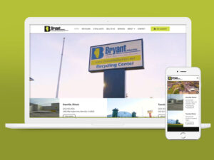 Bryant Industries Website Design